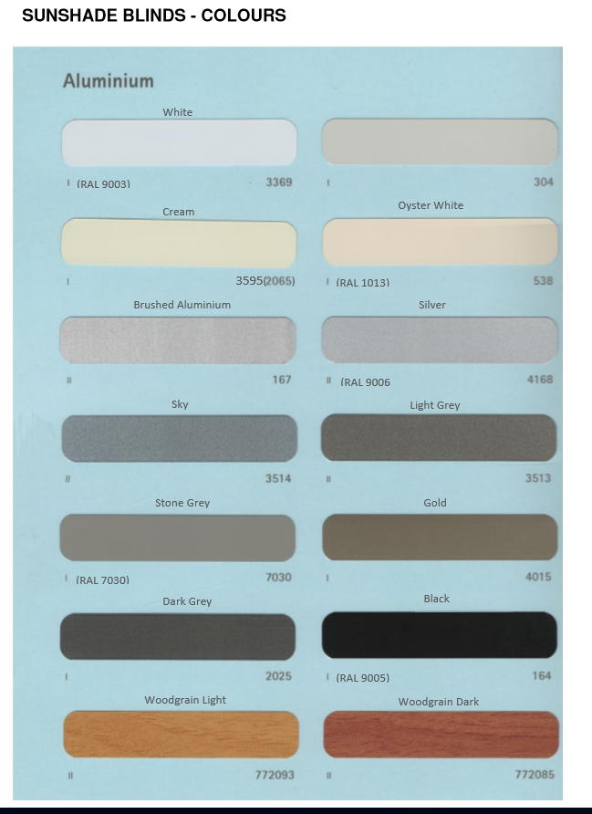 Holis Colour Swatch