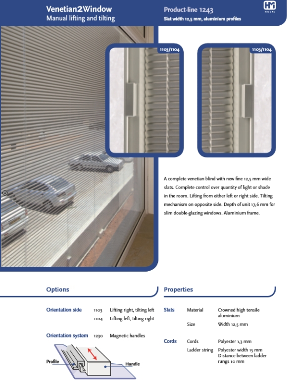 Holis Sunshade Technical Brochure