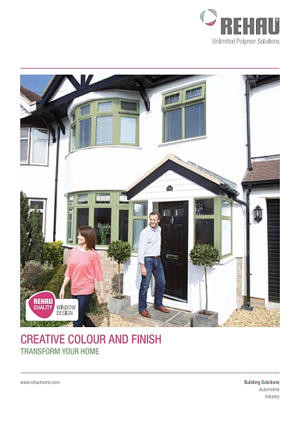 Rehau coloured windows - image coming soon