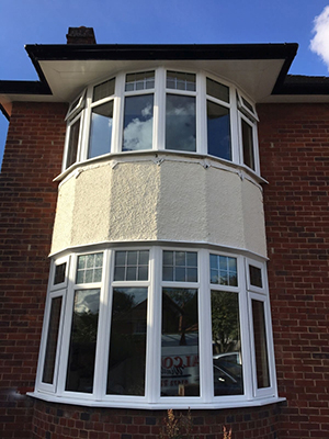Stylish bay PVC windows  windows benefits