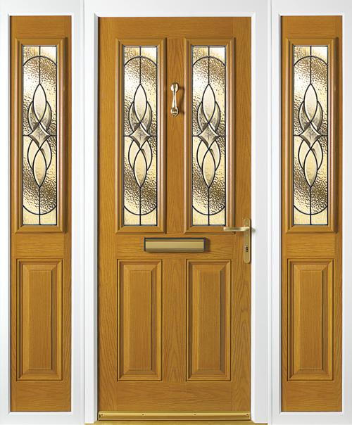 Composite Door 4 Platinum Marquise & Composite door collection from Suffolk based Falcon Windows pezcame.com