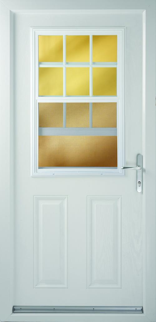 Composite Door Half Sash Slider