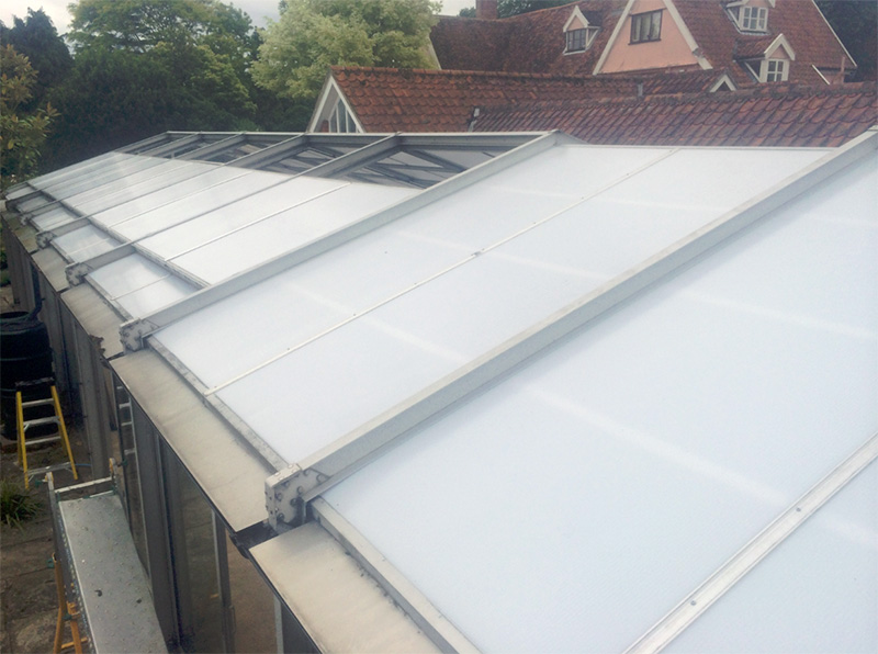 Polycarbonate Roofs From Falcon Windows An Established