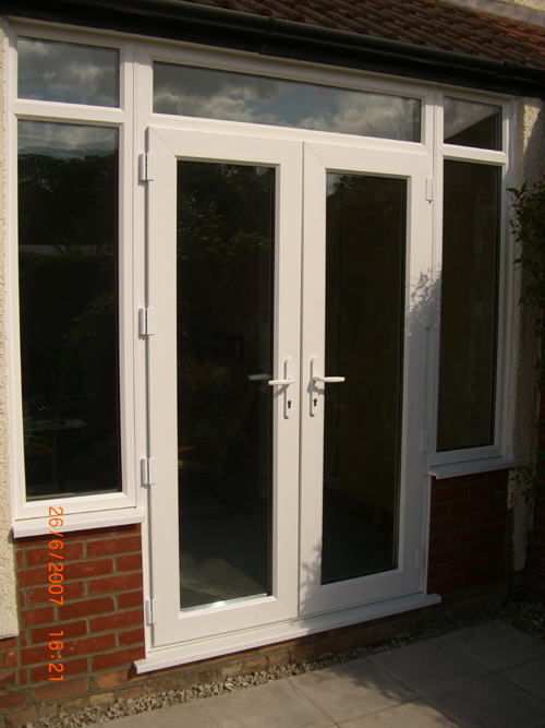 Falcon windows the quality choice in windows doors and for French doors with side windows that open