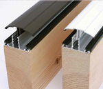 These are easy fit glazing bars with the plastic capping strip on top